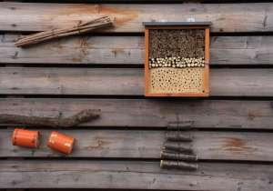Holzhotel für Nützlinge