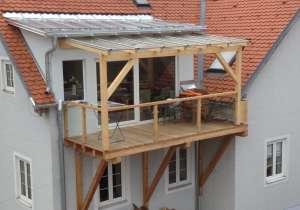 Gaupe mit Balkon