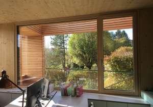 Büroneubau aus Brettsperrholz mit Lärchenholzverkleidung_1