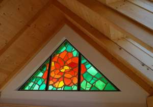 Giebelfenster im Dachausbau