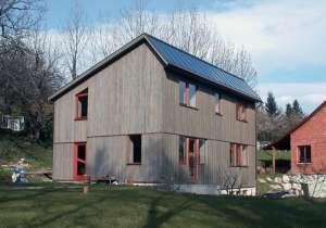 Holzhaus im Fachwerkstil