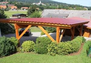 Carport-Anlage