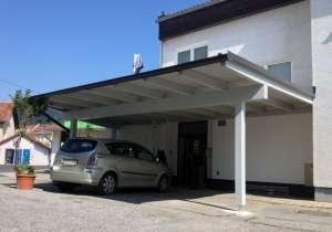Carport Blechdach