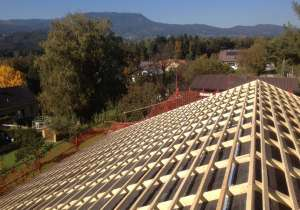 Dachstuhl mit Kaltdach