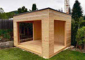 Gartenpavillon aus Lärchenholz_1