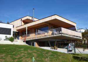 Holzhaus mit Lärchenholzfassade