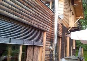 Lärchenholz-Fassade