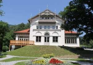 Sanierung Giebel und Balkon des Kurhauses St. Radegund