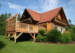 Erhöhte Terrassen-Konstruktion