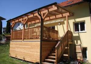 Terrassen-Anlage überdacht