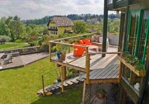 Veranda und Balkon