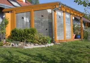 Veranda - Glaswände
