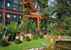 Wintergarten und Überdachung