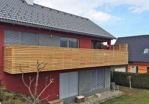 Balkon-Geländer Lärche