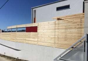 Holzzaun - Sichtschutz