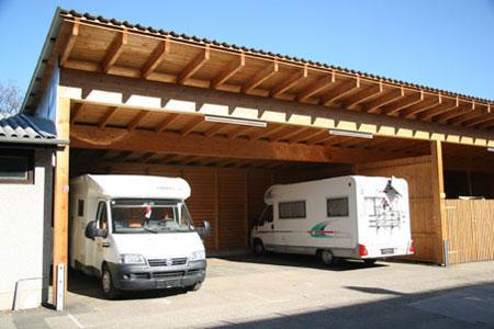 Carport aus Holz - Planen, Bauen, Montagebausätze vom Zimmermeister ...