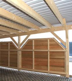 Carport Aus Holz Planen Bauen Montagebausätze Vom Zimmermeister