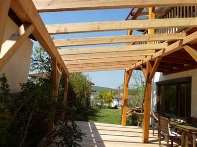Extrem Pergola aus Holz - Dekoration und Sichtschutz für Garten und Terrasse ZG19