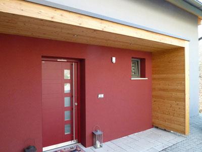 Vordach Massiv Holz Mit Glasdeckung Passend Zu Ihrem Haus Graz