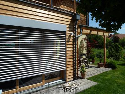 Zubau Und Erweiterung In Holzbauweise Gedammt Und Mit Fassade Vom