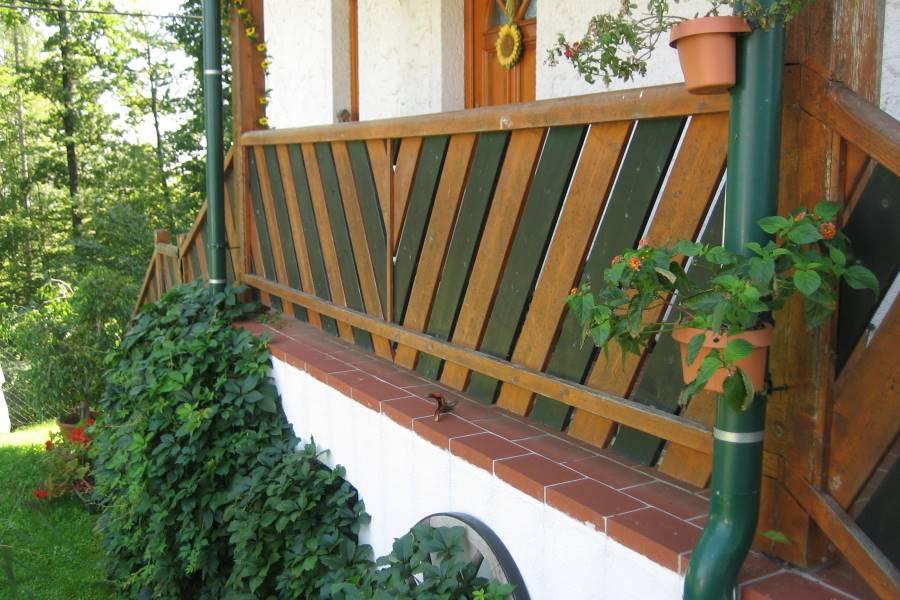 B I L D E R G A L E R I E Kategorie Holz Balkone